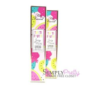 Too Faced Lip Gloss Show Me Your Coconuts Bundle